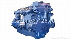 1900HP weichai XCW12V200ZC marine diesel engines ship motors