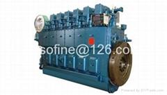 928kW 1262PS 1262HP weichai XCW8200ZC marine diesel engines ship motors
