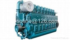 1200kW 1632PS 1632HP weichai CW12V200ZC marine diesel engines ship motors