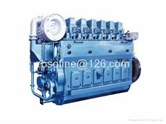 600kW 816PS 816HP weichai CW6200ZC marine diesel engines ship motors
