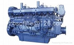 601kW 818PS 818HP weichai 8170ZC818-3 marine diesel engines ship motors