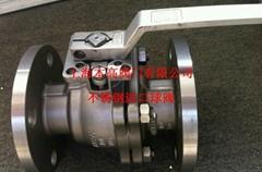 不鏽鋼進口法蘭球閥Q41F-10K