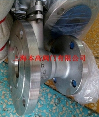 FQ41F-16P不锈钢放料球阀