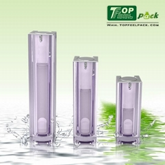 Advanced Settings 15/30/50ML Acrylic Cosmetic Airless Bottle