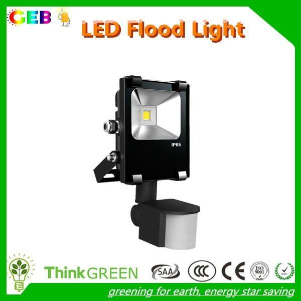 High Lumens PIR Motion Sensor Flood Light Waterproof CE RoHS 1