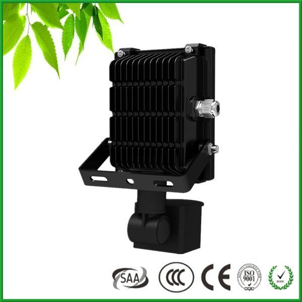 High Lumens PIR Motion Sensor Flood Light Waterproof CE RoHS 2