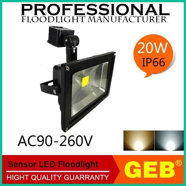 High Lumens PIR Motion Sensor Flood Light Waterproof CE RoHS 4