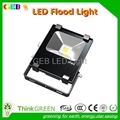 CE RoHS 100W LED Flood Light IP65 120lm/W Outdoor Wall Lamp 2