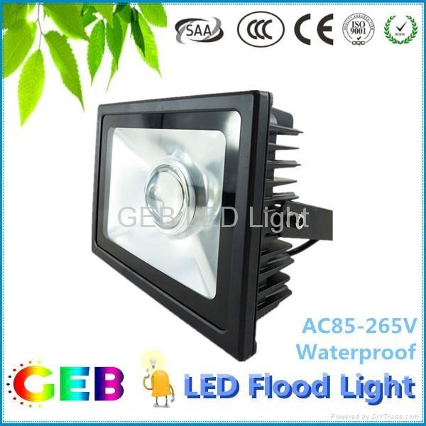 High Power Low Price 50W LED Flood Light IP65 Outdoor LED Spotlight 1