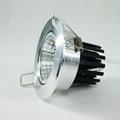 CE ROHS 5W 10W 15W 20W COB LED Downlight  Recessed Fixture Lights CE RoHS 5