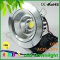 CE ROHS 5W 10W 15W 20W COB LED Downlight  Recessed Fixture Lights CE RoHS 2