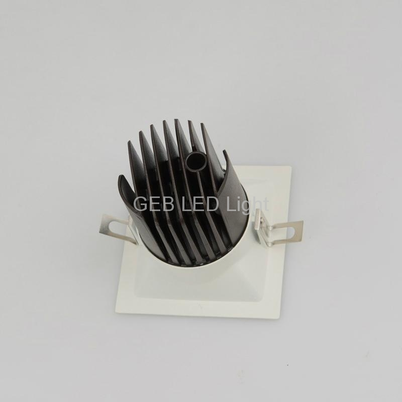 Square LED Recessed 8W 12W Downlight CE RoHS On Sale 3