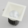 Square LED Recessed 8W 12W Downlight CE RoHS On Sale 2