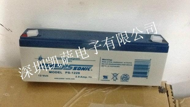 Power-Sonic PS-1229閥控密封鉛酸電池 1