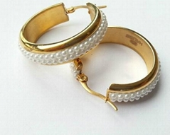 最新款個性珍珠耳環