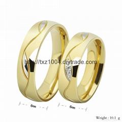 不鏽鋼情侶戒指