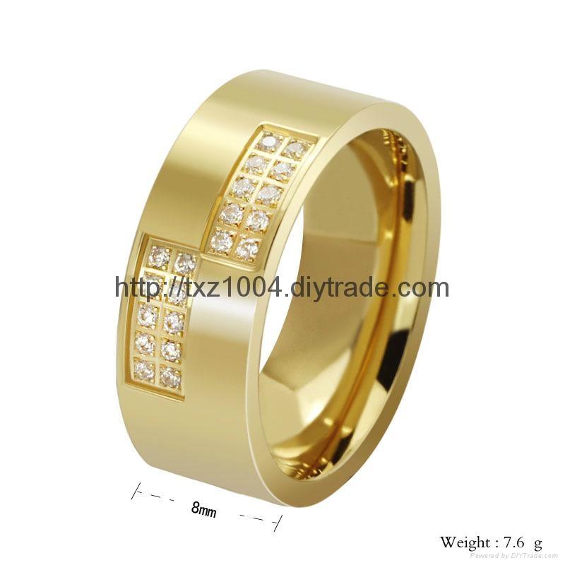 不鏽鋼戒指 1