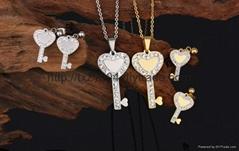 Stainless Steel Jewelry Fashion Jewelry Set