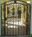 wrought iron handcrafted gates 2