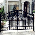 wrought iron handcrafted gates 3