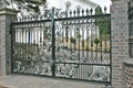 wrought iron handcrafted gates 4