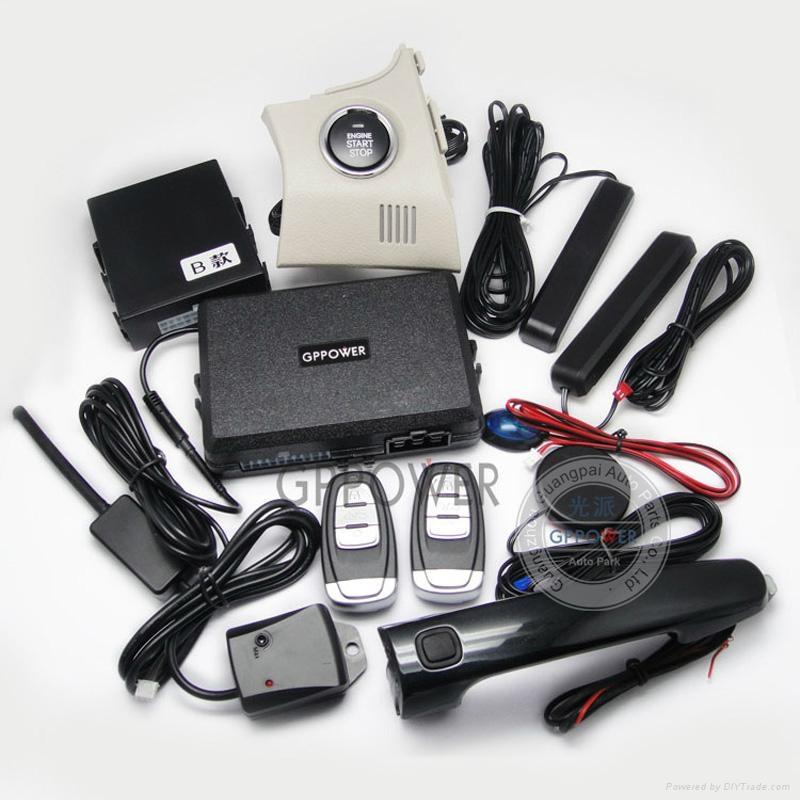 RFID Intelligent Alarm Systems For Car Toyota Carolla 3