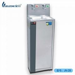 Back type energy saving water dispenser