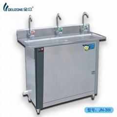 Stainless steel energy saving water dispenser