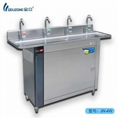 Hook pipe straight water dispensers