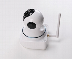 2014 hot sell HD h.264 p2pwireless indoor dome ip camera sd card