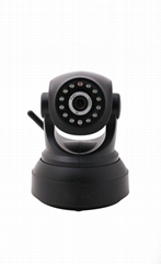Indoor wireless ip camera, SD card storage p2p home security ip camera