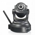 High resolution wifi camera two way audio dome ip camera