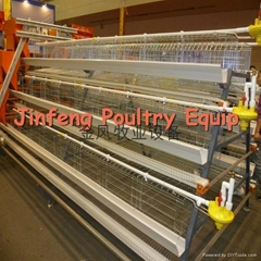 A type 3 tier layer chicken cage