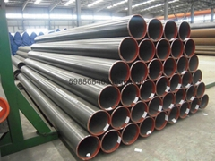 St37 ERW Black Carbon Welded steel Pipe