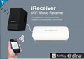 wireless audio receiver  wifi music