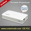 portable power bank 6600mAh
