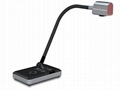 Portable gooseneck document camera
