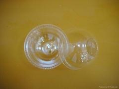 smart disposable plastic PET yogurt cup lids