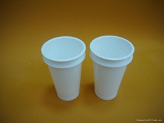 plastic PP cup container lid