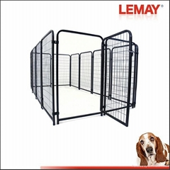 heavy -duty welded wire panel outdoor large cheap chain link dog kennels