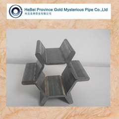 hexagon tooth shape seam
