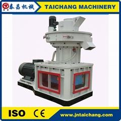 CE 1 ton/hour vertical ring die type wood pellet machine