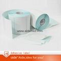 Self-adhesive thermal label  1