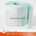 Adhesive sticker printing