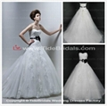 2014 new collection ball gown white