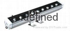 LED大功率洗牆燈單色 七彩18w