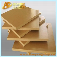 PVC board sheet for formwork system