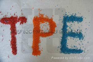 85A阻燃TPEUL62/UL758线缆TPE料  2