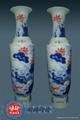 江西景德镇陶瓷大花瓶