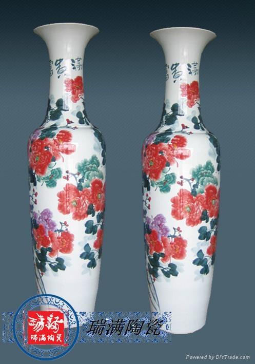 賓館酒店裝飾品大花瓶 2